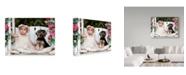 """Trademark Global Sharon Forbes 'Mia And Gismo' Canvas Art - 18"""" x 24"""""""