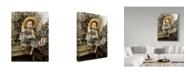 "Trademark Global Sharon Forbes 'Yanky Doodle' Canvas Art - 18"" x 24"""