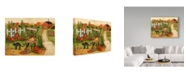 "Trademark Global Robin Betterley 'Gather The Harvest' Canvas Art - 19"" x 14"""