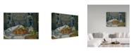 "Trademark Global Paul Cezanne 'Dish Of Apples' Canvas Art - 19"" x 14"""