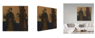 "Trademark Global Edgar Degas 'At The Milliners' Canvas Art - 18"" x 18"""