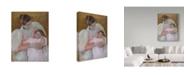 "Trademark Global Mary Stevenson Cassatt 'Nurse And Child' Canvas Art - 24"" x 18"""