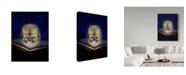 "Trademark Global J Hovenstine Studios 'Book Owl' Canvas Art - 18"" x 24"""