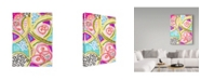 """Trademark Global Jennifer Mccully 'Lemons Or Grapefruit' Canvas Art - 18"""" x 24"""""""