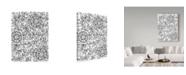 "Trademark Global Jessica Putnam 'Floral Patterns 9' Canvas Art - 24"" x 32"""