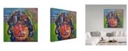 """Trademark Global Howie Green 'Mick Jagger Portrait' Canvas Art - 24"""" x 24"""""""