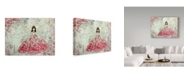 "Trademark Global Janelle Nichol 'The Fairy Queen' Canvas Art - 24"" x 18"""