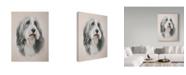 """Trademark Global Janet Pidoux 'Muffin' Canvas Art - 18"""" x 24"""""""