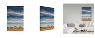 "Trademark Global Janice Sullivan 'Arizona Painted Sky I' Canvas Art - 12"" x 19"""