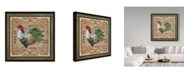 """Trademark Global Jean Plout 'Old World Rooster 3' Canvas Art - 24"""" x 24"""""""