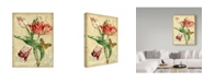 """Trademark Global Jean Plout 'French Florals 2' Canvas Art - 18"""" x 24"""""""