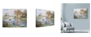 "Trademark Global Lee Dubin 'Ship Ahoy' Canvas Art - 19"" x 14"""