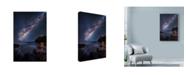 "Trademark Global Lincoln Harrison 'Celestial Lights' Canvas Art - 12"" x 19"""