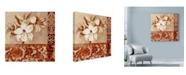 "Trademark Global Marietta Cohen Art And Design 'Portrait Of White Lily' Canvas Art - 24"" x 24"""