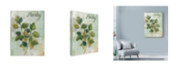 "Trademark Global Marietta Cohen Art And Design 'Parsley' Canvas Art - 24"" x 32"""