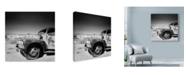 "Trademark Global Nina Papiorek 'Namibia Rotten Car' Canvas Art - 14"" x 14"""