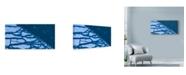 "Trademark Global Njr Photos 'Divided Ice' Canvas Art - 19"" x 10"""