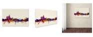 "Trademark Global Michael Tompsett 'Amsterdam Netherlands Skyline' Canvas Art - 22"" x 32"""