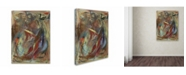 "Trademark Global Shana Doumingez 'Gleaming Roundness' Canvas Art - 35"" x 47"""
