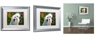 "Trademark Global Lois Bryan 'Nuttin' but Love Painterly' Matted Framed Art - 20"" x 16"""