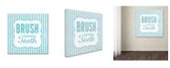 "Trademark Global Stephanie Marrott 'Brush' Canvas Art - 35"" x 35"""
