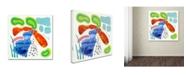 "Trademark Global Wyanne 'Koi Pond' Canvas Art - 35"" x 35"""