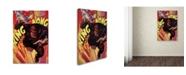 "Trademark Global Lantern Press 'King Kong 8' Canvas Art - 22"" x 32"""