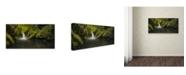 "Trademark Global Moises Levy 'Hope' Canvas Art - 24"" x 47"""