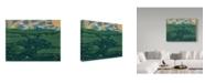 "Trademark Global Jake Hose 'San Juan Islands' Canvas Art - 35"" x 47"""