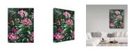 "Trademark Global Jeff Tift 'Annas And Rhodies' Canvas Art - 35"" x 47"""