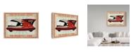 "Trademark Global John W. Golden 'Patrol Craft Red' Canvas Art - 35"" x 47"""