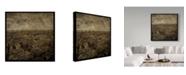"""Trademark Global John W. Golden 'Paris Skyline' Canvas Art - 24"""" x 24"""""""