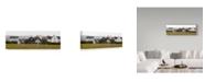 "Trademark Global Lance Kuehne 'Rainy Day' Canvas Art - 6"" x 19"""