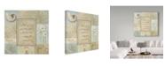 "Trademark Global Lisa Audit 'Tranquil Bath IV' Canvas Art - 24"" x 24"""
