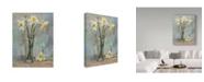 "Trademark Global Steve Henderson 'Floral Texture' Canvas Art - 24"" x 32"""