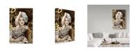 "Trademark Global Sharon Forbes 'Hats Off' Canvas Art - 22"" x 32"""