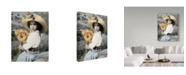 "Trademark Global Sharon Forbes 'Becky' Canvas Art - 24"" x 32"""