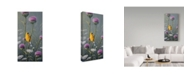 "Trademark Global Wilhelm Goebel 'Goldfinch' Canvas Art - 24"" x 47"""
