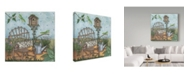 "Trademark Global Robin Betterley 'Welcome To The Garden 2' Canvas Art - 24"" x 24"""