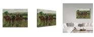 "Trademark Global Edgar Degas 'The Riders' Canvas Art - 32"" x 24"""