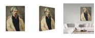 "Trademark Global Paul Cezanne 'Sauveur Aubert The Artists Uncle' Canvas Art - 47"" x 35"""