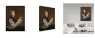 "Trademark Global Edouard Manet 'Young Boy Peeling A Pear' Canvas Art - 47"" x 35"""