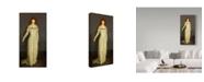 "Trademark Global Robert Cozad Henri 'The Masquerade Dress' Canvas Art - 47"" x 24"""
