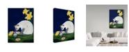 "Trademark Global Jan Panico 'The Surprise' Canvas Art - 35"" x 47"""