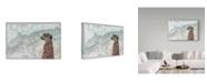 "Trademark Global Jane Wilson 'Watchful' Canvas Art - 32"" x 22"""