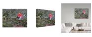 "Trademark Global J Arthur 'Inflexion' Canvas Art - 47"" x 35"""