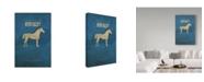"Trademark Global Red Atlas Designs 'State Animal Kentucky' Canvas Art - 30"" x 47"""