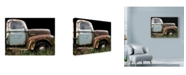 "Trademark Global Larry Hunter '1947 Ford 1 Ton' Canvas Art - 47"" x 35"""