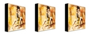 "Trademark Global Joarez 'Love Song' Canvas Art - 32"" x 26"""