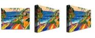 "Trademark Global Manor Shadian 'Mapli Maui' Canvas Art - 24"" x 18"""